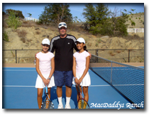 "Behrens with STAR Students. Did someone say ""Tennis Scholarship""?"